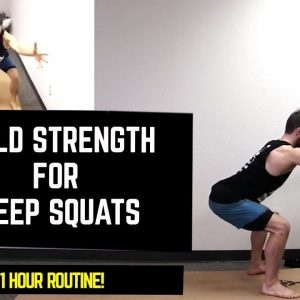 Deep Squat Challenge | Learn How to Build Strength for the Perfect, Deep Squat | #yogaformen