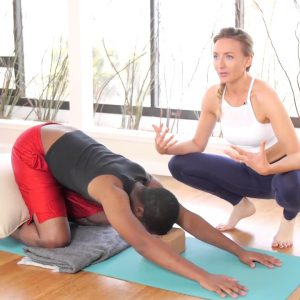 Pure Beginner: Lesson #1 of 6 Yoga for 100% Beginners - Jumpstart Your Yoga Practice Safely at Home