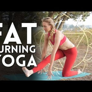 Fiery, Fat Burning Morning Yoga Workout - Day 2