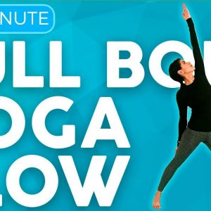 30 minute Flexibility Yoga Flow & Stretch 💙 BREATHE into your Muscles | Sarah Beth Yoga