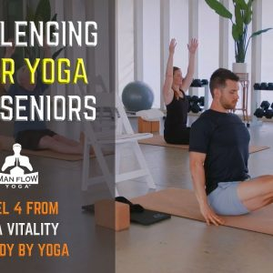 Challenging Chair Yoga for Seniors | Level 4 from Yoga Vitality by Body By Yoga
