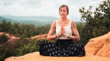 Guided Meditation to Feel Grounded & Confident | Breathe and Flow