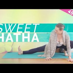 Hatha Yoga for Hips - Gentle Beginners Yoga Class | Slow Release