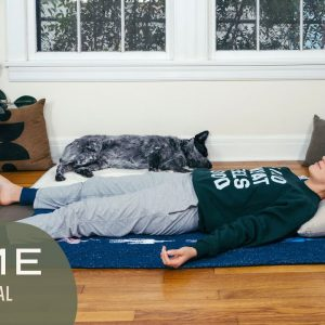 Home - Day 8 - Heal  |  30 Days of Yoga With Adriene