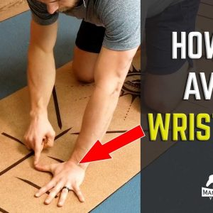 How to Avoid Wrist Pain When Doing Push Ups and Planks | #yogaformen