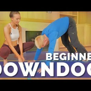 How To Do Downward Facing Dog Pose For Beginners (5-Min)