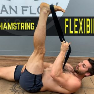 How to Increase Hamstring Flexibility (Do This EVERY Night!) #yogaformen