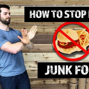 How To Stop Eating Junk Food  | The 1 Thing I Did & How It Helped