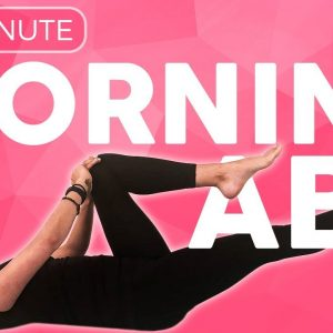 15 minute Morning Yoga Workout for Abs 🔥 EVOLVE your Core | Sarah Beth Yoga