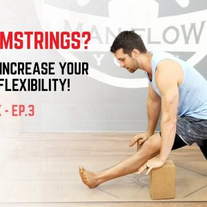 Tight Hamstrings? Try This To Increase Your Hamstring Flexibility! (The Yoga Fix ep.3)