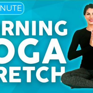 20 minute Full Body Morning Yoga Stretch & Flow for Mobility | Sarah Beth Yoga
