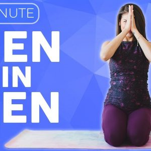 """Stressed? CHILL OUT with this 10 minute Yoga Stretch  🙏🏽 """"Zen in Ten"""" 