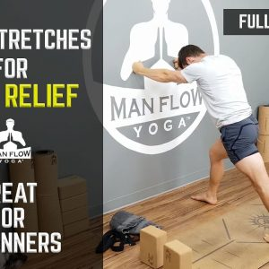 Knee Stretches for Pain Relief | Great for Beginners | Full Workout!!