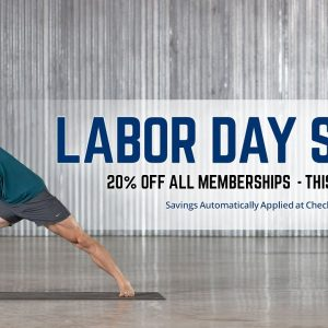 Labor Day Sale | Save 20% Off  Any Membership