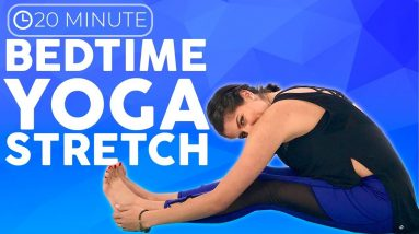 20 minute Full Body Bedtime Yoga Stretches for Relaxation | Sarah Beth Yoga