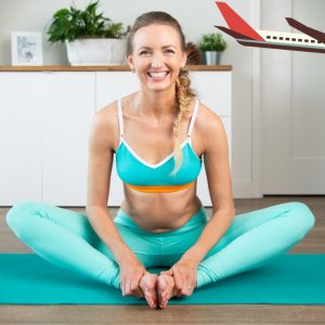 My Travel Yoga Sequence: Deep Stretches For Travel Jet Lag