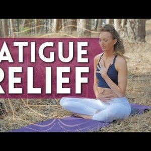 15 Min Fatigue Relief 😴 Yoga for When You're Sore or Tired - Day 12