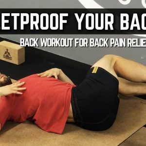Back Workout for Pain Relief and Prevention | Bulletproof Your Back! | #yogaformen