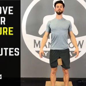 How to Fix Your Posture in 15 Minutes | Reduce Lower Back Pain | #yogaformen