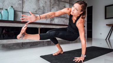 Power Yoga for Strength and Presence
