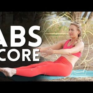 Quick Abs and Core 💪 Power Yoga - Day 6