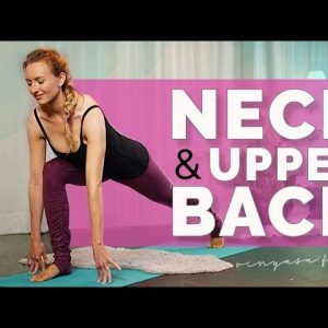 Quickie Yoga for Neck and Upper Back Pain (14-min)