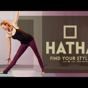 Hatha Flow Yoga For Beginners (30-min) Discover the Hatha Yoga Style (All Levels) Full Class