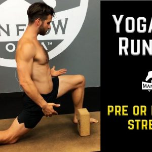 Yoga for Runners | Great Pre or Post Run Stretch Routine | Prevent Running Injuries!