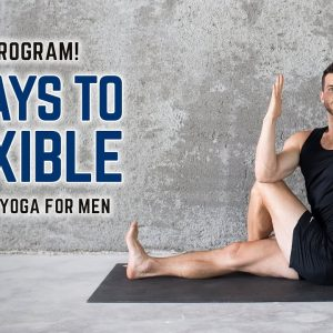 New Program!! 90 Days to Flexible | Beginner's Yoga for Men (Now available in the Members' Area)