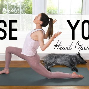 Rose Yoga  🌹 Heart Opening Flow  🌹 Yoga With Adriene