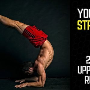 Yoga for Strength | Difficult 20 min Upper Body Routine | Chest, Back, &  Shoulders | #yogaformen
