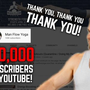 Thank YOU, YouTube! (100K Subs) 20% Savings to First 100 to Join!