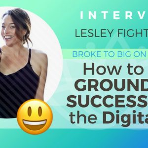 Ep 132 Sivana Podcast: How to Stay Grounded & Successful in the Digital Age with Lesley Fightmaster