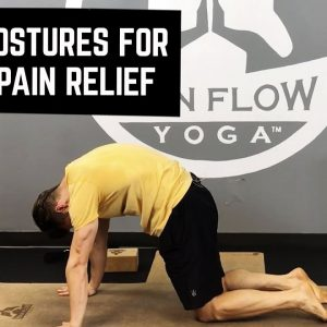 Yoga Postures for Back Pain Relief | 10 Minute Tutorial for Beginners | #yogaformen