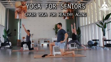 Yoga For Seniors | 14 Minute DVD Preview | Chair Yoga for Healthy Aging