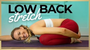 Gentle Beginner Yoga for Back Pain | LOW BACK STRETCHING TUTORIALS
