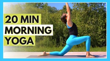 20 min Morning Yoga Flow - Daily Stretch & Strength Routine