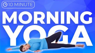 10 minute Morning Yoga Stretch for Sore Muscles | Upper Body, Neck & Shoulders