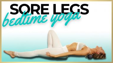 Yoga for Feet | Bedtime Yoga for Swollen Legs and Ankles
